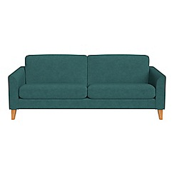 Debenhams - 3 seater velour 'Carnaby' sofa