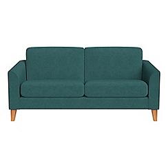 Debenhams - 2 seater velour 'Carnaby' sofa