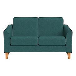 Debenhams - Compact velour 'Carnaby' sofa