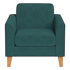 Debenhams - Velour 'Carnaby' armchair