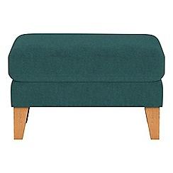 Debenhams - Velour 'Carnaby' footstool