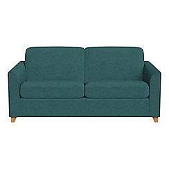 Debenhams - 3 seater velour 'Carnaby' sofa bed