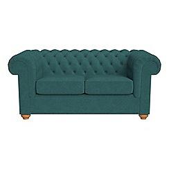 Debenhams - 2 seater velour 'Chesterfield' sofa