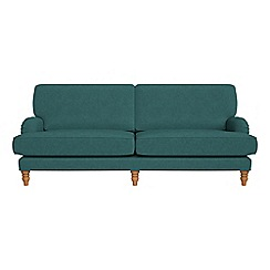 Debenhams - 4 seater velour 'Eliza' sofa