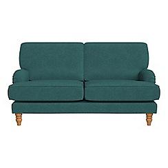 Debenhams - 2 seater velour 'Eliza' sofa