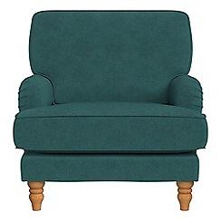 Debenhams - Velour 'Eliza' armchair