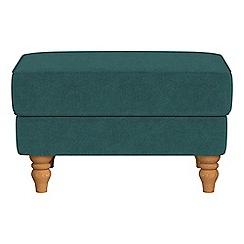Debenhams - Velour 'Eliza' footstool