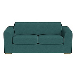 Debenhams - 3 seater velour 'Jackson' sofa