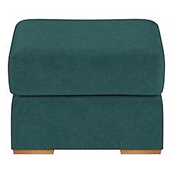 Debenhams - Velour 'Jackson' footstool