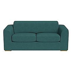 Debenhams - 3 seater velour 'Jackson' sofa bed