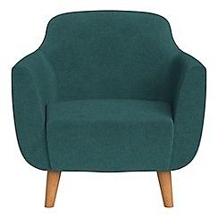 Ben de Lisi Home - Velour 'Marco' armchair