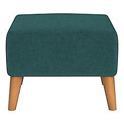 Ben de Lisi Home - Velour 'Marco' footstool