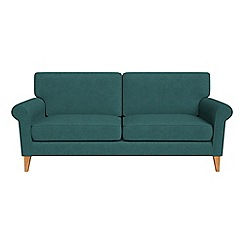 Debenhams - 3 seater velour 'Arlo' sofa