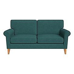 Debenhams - 2 seater velour 'Arlo' sofa