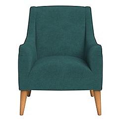 Debenhams - Velour 'Darcey' armchair