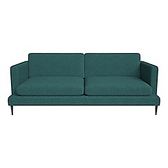 J by Jasper Conran - 3 seater velour 'Ellsworth' sofa