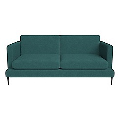 J by Jasper Conran - 2 seater velour 'Ellsworth' sofa