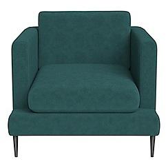 J by Jasper Conran - Velour 'Ellsworth' armchair