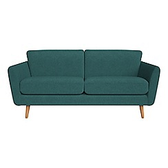 Debenhams - 3 seater velour 'Isabella' sofa