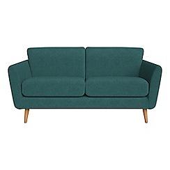 Debenhams - 2 seater velour 'Isabella' sofa