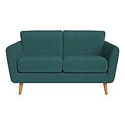 Debenhams - Small 2 seater velour 'Isabella' sofa