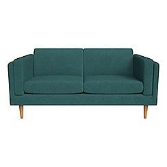 Debenhams - 2 seater velour 'Lille' sofa