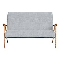 Debenhams - Compact brushed cotton 'Kempton' sofa