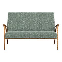 Debenhams - Compact chenille 'Kempton' sofa