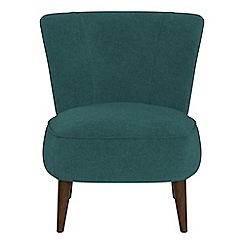 Debenhams - Velour 'Boutique' accent chair