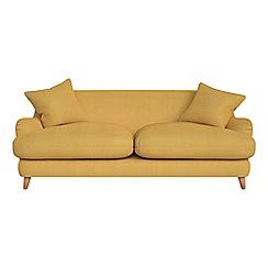 Debenhams - 3 seater tweedy weave 'Archie' sofa