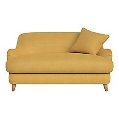 Debenhams - Compact tweedy weave 'Archie' sofa