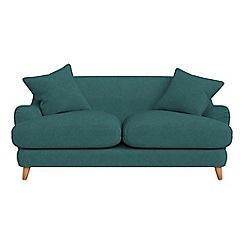 Debenhams - 2 seater velour 'Archie' sofa
