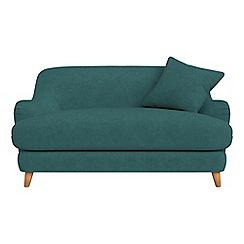 Debenhams - Compact velour 'Archie' sofa