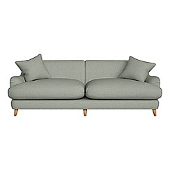 Debenhams - 4 seater textured weave 'Archie' sofa