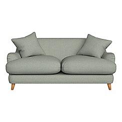 Debenhams - 2 seater textured weave 'Archie' sofa