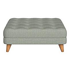 Debenhams - Textured weave 'Dimple' footstool