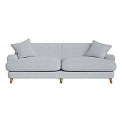 Debenhams - 4 seater brushed cotton 'Archie' sofa