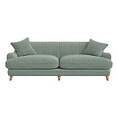 Debenhams - 4 seater chenille 'Archie' sofa