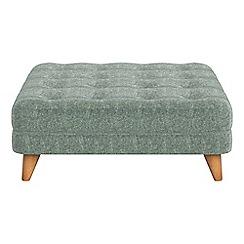 Debenhams - Chenille 'Dimple' footstool