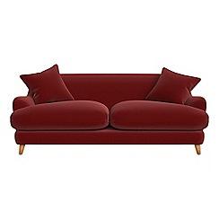 Debenhams - 3 seater velvet 'Archie' sofa
