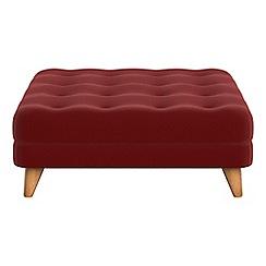 Debenhams - Velvet 'Dimple' footstool