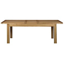 Debenhams - Oak 'Kent' large extending table
