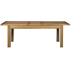 Debenhams - Oak 'Kent' small extending table