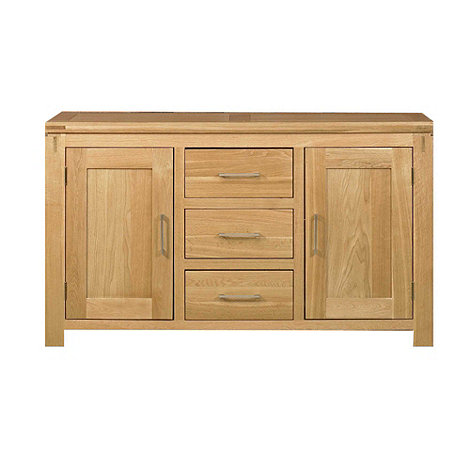 Debenhams - Oak +Kent+ large sideboard