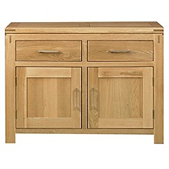 Debenhams - Oak 'Kent' small sideboard