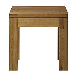 Debenhams - Oak 'Kent' side table
