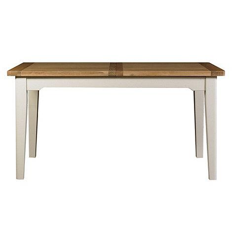 Debenhams - Oak and painted +Wadebridge+ small extending table
