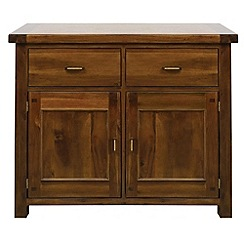 Debenhams - Acacia 'Elba' small sideboard
