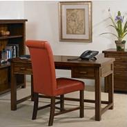 Rich Dark Acacia 'Elba' office desk