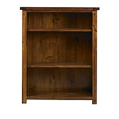 Debenhams - Acacia 'Elba' small bookcase